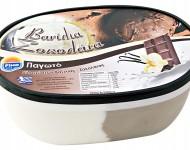 Family Pack 2L Vanilla Chocolate/Οικογενειακό Παγωτό Δίχρωμο