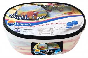 Family Pack 2L Bubble Gum/Οικογενειακό Παγωτό 2L Τσίχλόφουσκα